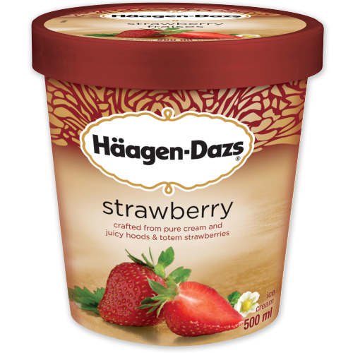 Strawberry Ice Cream | haagen-dazs.ca