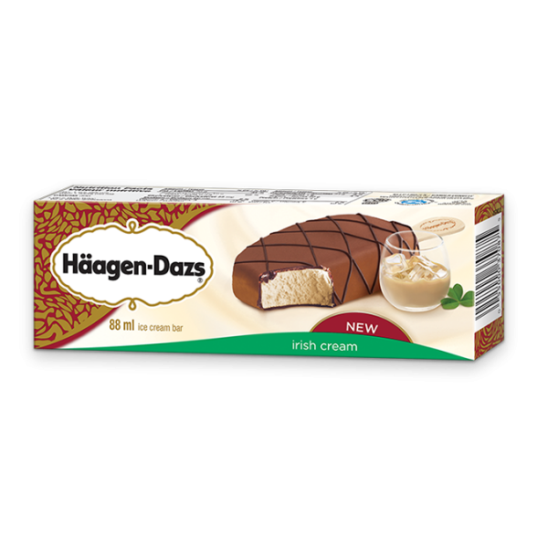 Haagen Dazs Vanilla And Chocolate Ice Cream Bars